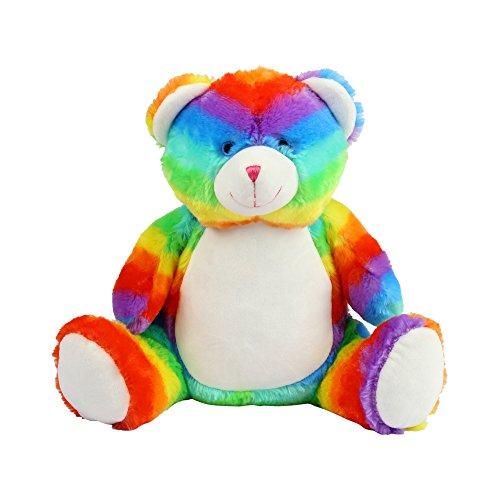 Mumbles Zippie Regenbogen Bär (Einheitsgröße) (Bunt)