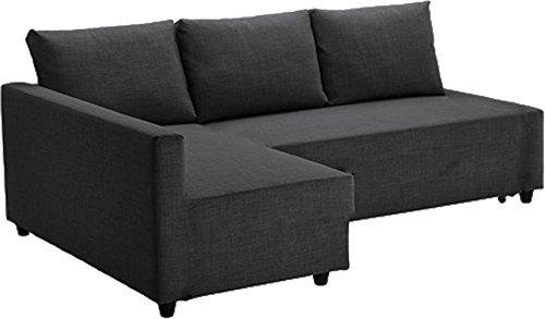 Easy Slipcover El reemplazo Gris Oscuro Friheten Gruesa de algodón Sofá Cubierta IKEA Friheten Sofá Cama, o Esquina, o por sección de Fundas. Sólo la Cubierta del sofá! Justo Brazo más Largo