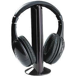 zantec inalámbrico auriculares auriculares para MP3PC TV CD