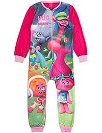 Various - Pijama de una pieza - Manga Larga - para niña