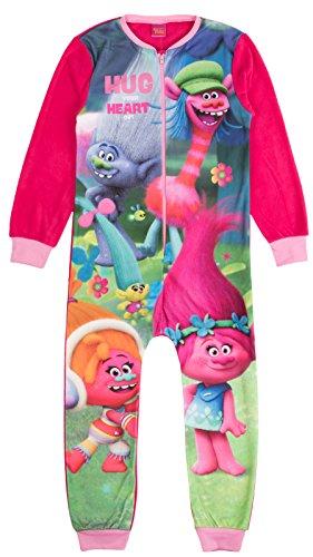 Various - Pijama de una pieza - Manga Larga - para niña multicolor Trolls - Trolls 5-6 Años