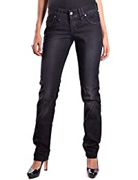 Galliano Damen MCBI130030O Schwarz Baumwolle Jeans