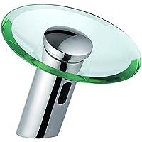 Ottone TougMoo sensore infrarossi rubinetto, vetro cascata rubinetto automatico, DC6V,