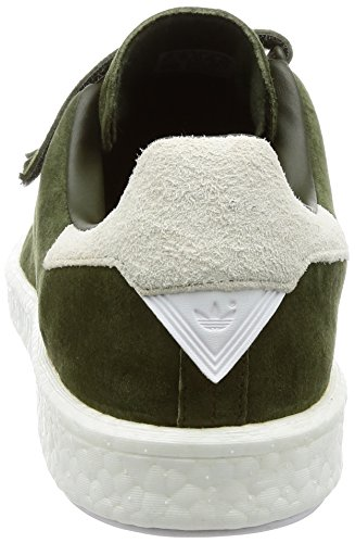adidas WM Stan Smith CF, Chaussures de Fitness Homme Multicolore - vert/blanc (Carnoc / Carnoc / Ftwbla)
