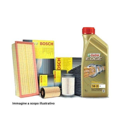 Kit tagliando, 4 filtri e 5 litri olio motore Castrol Edge 5W30 (KF0096/fo)
