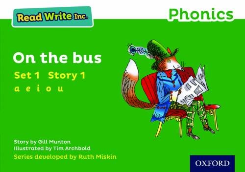 Read Write Inc. Phonics: Green Set 1 Storybook 1 On The Bus