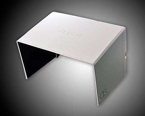 DSstyles DJI FPV Inspire 1 Inspire 2 Fernbedienung iPad Tablet-Monitor Phantom 4/ Phantom 3 Halterung 9.7 '' Sonnenschutz-Haube Blende Abdekung - Weiß - 4