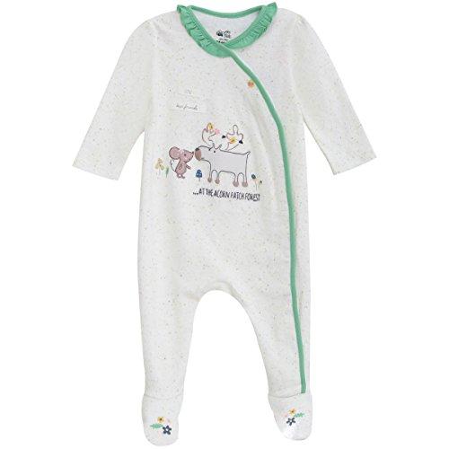 Mini Klub - 100% Cotton Sleepsuit - 6-9M