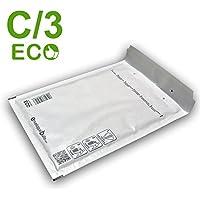 Enveloppebulle Gamme Eco - Sobre acolchado (150 x 220 mm, 80 gsm, paquete de 100), color blanco