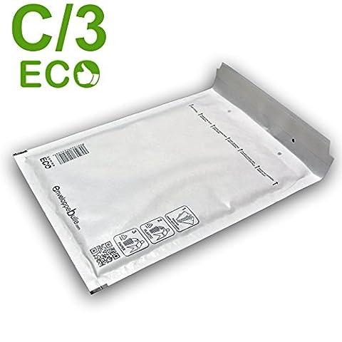 Lot de 100 enveloppes à bulles ECO C/3 format 150x220mm