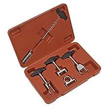 Sealey VS5294 Spark Plug Puller Set 5pc - VAG