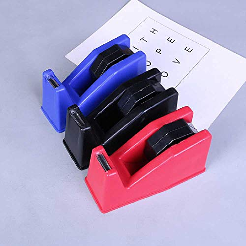 BXB Neue Tape Sitz Büro Lernen Liefert Schreibwarensitz Bequem Tape Cutter 16.3×7.2×8.3CM/ rouge -