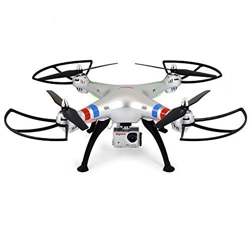 GoolRC-Syma-X8G-24G-6-assi-giroscopio-4-CH-senza-testa-RC-Quadcopter-con-una-videocamera-HD
