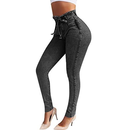RISTHY Jeans Skinny Push-Up Mujer Vaqueros Pantalones