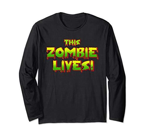 Dieses Zombie lebt faule Halloween-Kostüm - Frauen Kostüm Lebenden Toten