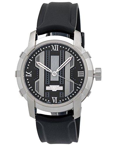 Dewitt Glorious cavaliere nero orologio automatico uomo Swiss Ftv.HMS.001