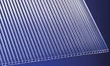 Polycarbonat Stegplatten Hohlkammerplatten klar 2000 x 1050 x 6 mm