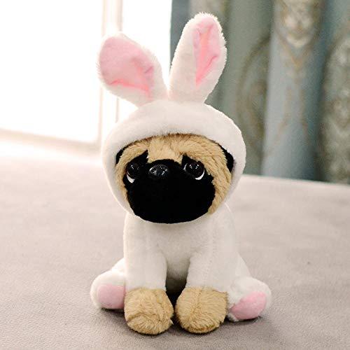 ZXZMONG Plüsch Kissen Dekokissen,Plüschtier Marionette Puppe Geburtstagsgeschenk Kaninchen Abschnitt 20Cm (Puppe Halloween Marionette)