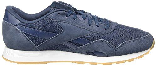 Reebok Herren Classic Nylon Hs Sneakers Blau (smokyindigo / White-gum)