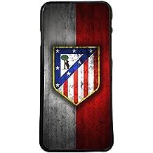 Funda carcasa para móvil escudo atletico de madrid colchonero compatible con iPhone 5 5s