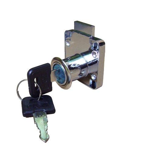2 x Neue Schrank/Schublade Wandkanal + Schlüssel 2