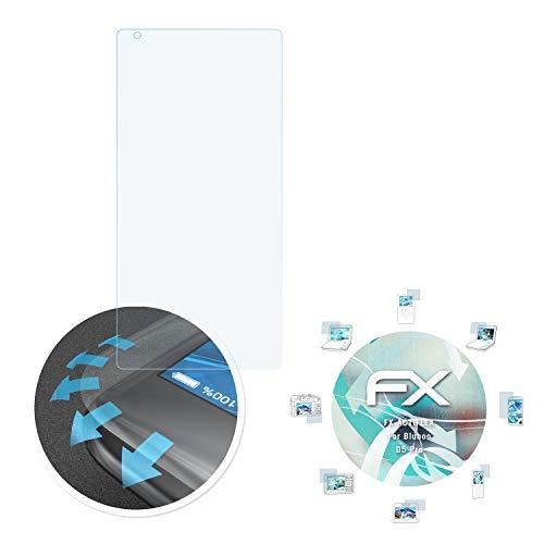 atFolix Schutzfolie passend für Bluboo D5 Pro Folie, ultraklare & Flexible FX Bildschirmschutzfolie (3X)