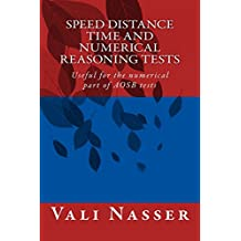 Speed Distance Time and Numerical Reasoning Tests: Useful for the numerical part of AOSB tests