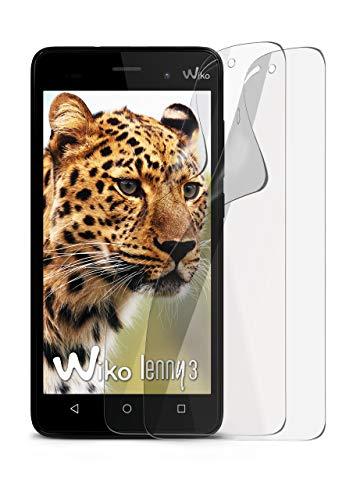 2X Wiko Lenny 3 | Schutzfolie Matt Bildschirm Schutz [Anti-Reflex] Screen Protector Fingerprint Handy-Folie Matte Bildschirmschutz-Folie für Wiko Lenny 3 Bildschirmfolie