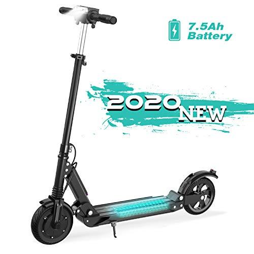 GeekMe Elektro Scooter E-Scooter Cityroller Bis zu 30 km/h|Faltbarer Elektroroller mit LCD-Display|7.5A Li-Ion Akku|Maximale Belastung 120 kg Für Erwachsene und Kinder