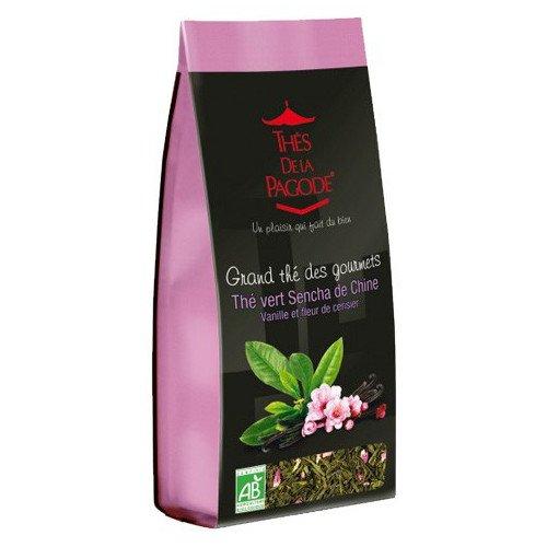 Thes De La Pagode - Gourmet Teas - Thes Vert Sencha de Chine - 110g (Case of 20)