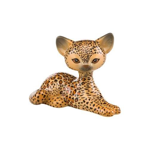 Kitty de Luxe Animal Kitties Figur Katze Leopard Relaxing Kitty Goebel Porzellan (Leopard Kitty)