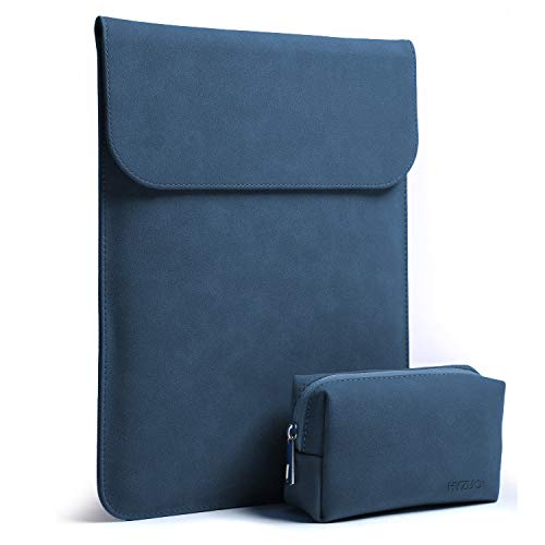 HYZUO 15 Zoll Laptop Hülle Tasche Wasserdichte Laptophülle Laptoptasche Notebooktasche mit Kleine Tragetasche, Navyblau