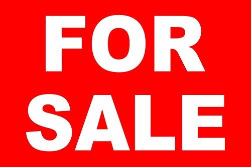 INDIGOS UG - Aufkleber - Sicherheit - Warnung - For sale Zeichen - 30x20 cm - Sticker für Büro, Firma, Schule, Hotel, Werkschutz (Sicherheit Zeichen Sticker)