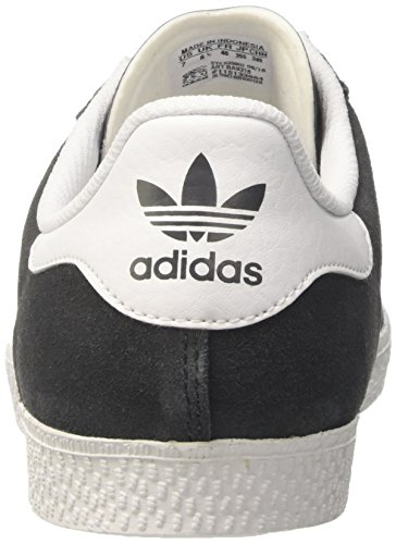 adidas Gazelle 2, Baskets Basses Mixte Enfant Gris (Dgh Solid Grey/Ftwr White/Ftwr White)