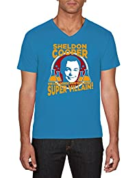 Touchlines Herren T-Shirt Sheldon Super Villain
