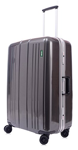 lojel-superlative-frame-polycarbonate-large-upright-spinner-luggage-grey-one-size