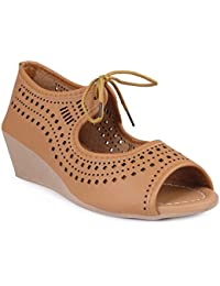 Perfect CHOICE Stylish & Fashionable Peeptoes Sandals for Women & Girl - 41