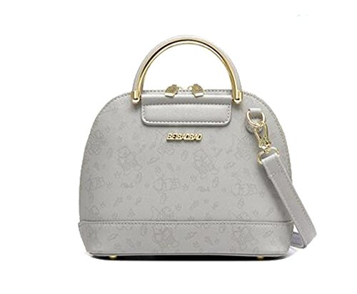 FAIRYSAN Frauen Einfache Frauen / Damen Mode Handtasche Retro Crossbody Schulter Geldbörse Taschen (Grau) Grau