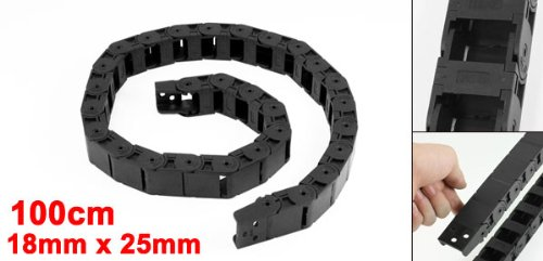 18 mm x 25 mm) Semi Flexible Towline porte-Frein de chaîne 100 cm