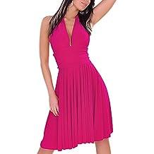 Toocool - Abito scollato danza Marilyn ballo tango latino moda vestito miniabito KLL9