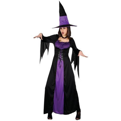 (L) Damen Spellbound Hexe Halloween Kostüm für Film TV Filme Kostüm Damen L Spellbound (Kostüme Hexe Spellbound)