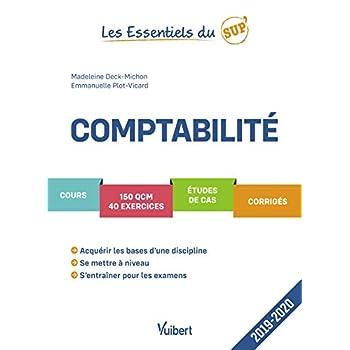Comptabilité 2019-2020 - Cours - QCM - Exercices - Corrigés