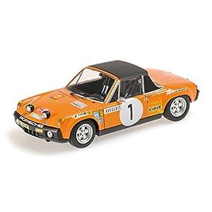 Minichamps - 400716501 - Listo Vehículo - Modelo para la escala - Porsche 914/6 - 1971 Rally Montecarlo - 1/43 Escala