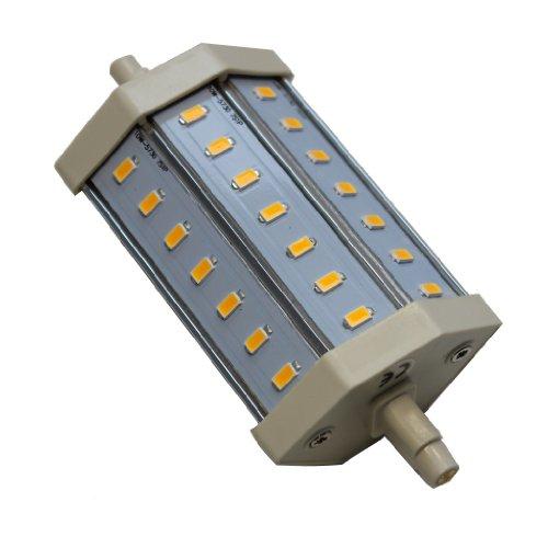 10W R7s LED warmweiss 118mm DIMMBAR mit 21x 5730 LEDs der neuesten Generation