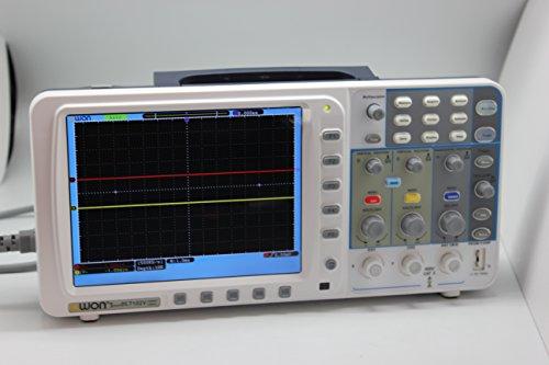 """New Owon 100MHz Oszilloskop Sds7102V 1g / s Große 8 """"LCD w / 3 Ys Garantie VGA LAN DE Lager New Owon 100mhz Oscilloscope Sds7102 1g/s Large 8"""" Lcd w/ 3 Ys Warranty Vga+lan"""