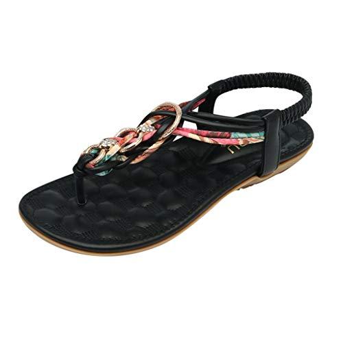 LuckyGirls Chic Sandalias Mujer Verano 2020 Fiesta Planas Zapatos Mujer Elegantes Casual Comodas Sandalias...
