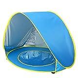 WE-WIN Baby-Strandzelt, Pop-up-Baby-Zelt mit Strand-Pool Automatische Faltbare tragbare Zelt...