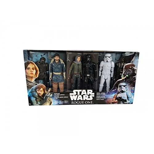 Preisvergleich Produktbild Star Wars Rogue One Ultimate Action Figure 6er-Pack 2016 Exclusive 30 cm Hasbro figuren