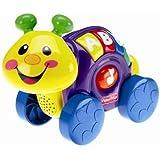 """Mattel L8837 - """"Laugh und Learn"""" Roll-Along Snail - German"""