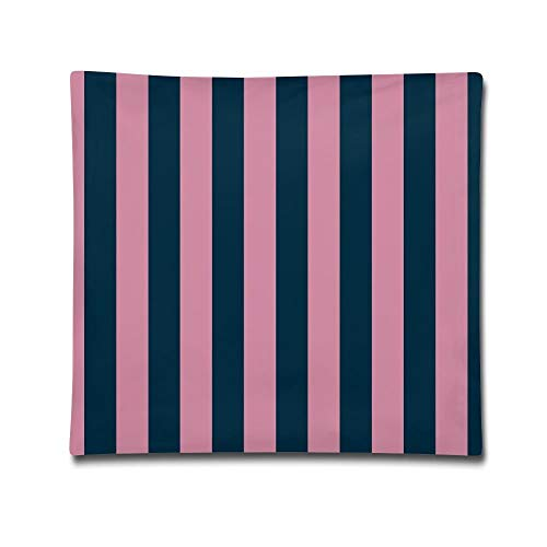 But why miss Stripes Wide Stripe Flooring Pink Decorative Square Accent Latest Pillow Case, 18 X 18 Inches Pink Miss Zebra